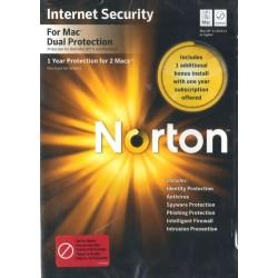 Symantec Norton Internet Security Dual Protection 2011 per Mac (1 utente / 2 Mac)