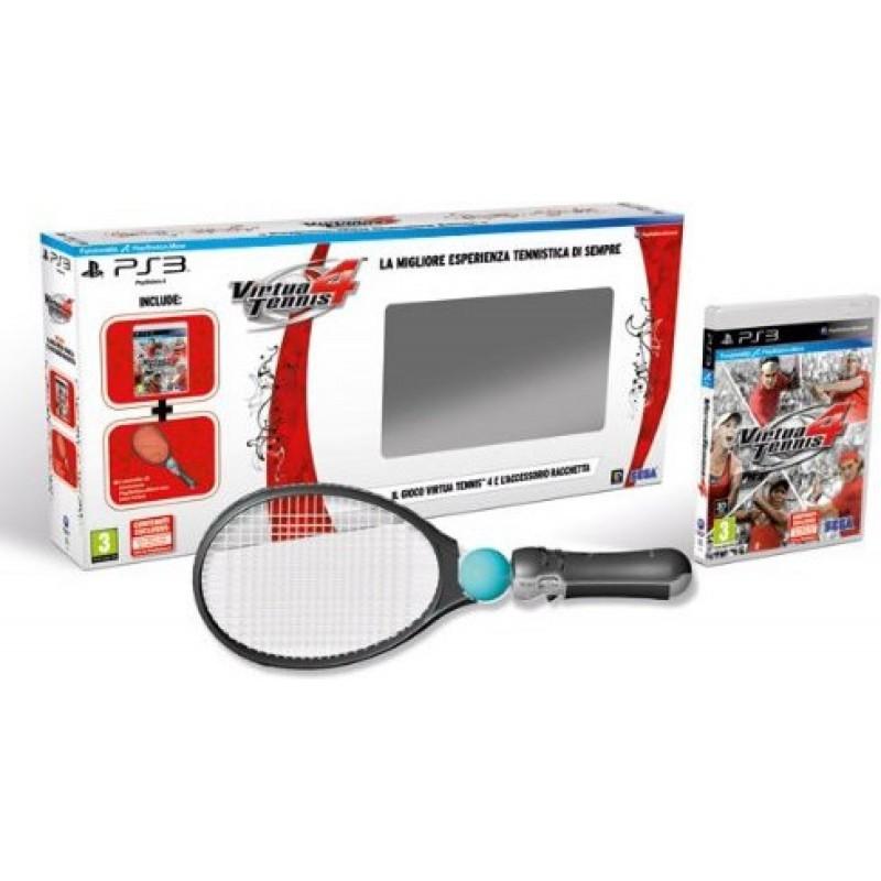 Virtua Tennis 4 + Racchetta - PlayStation 3