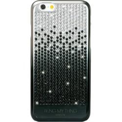 BlingMyThing Vogue Cascade Brilliant Onyx iPhone 6 /6s con con Swarovski - Cromata