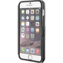 Custodia Flip Muvit con frontale trasparente per Apple iPhone 6 Plus 6S Plus - Nero/Trasparente