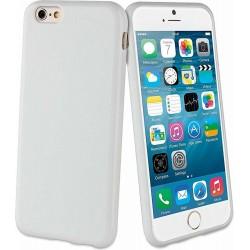 Custodia Minigel Muvit in TPU per Apple iPhone 6 Plus / 6S Plus - Bianco