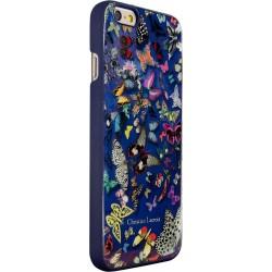 Bigben Christian Lacroix Custodia Butterfly per iPhone 6, Blu