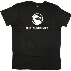 """Maglietta T Shirt Mortal Kombat X Taglia """"L"""" - Nero"""