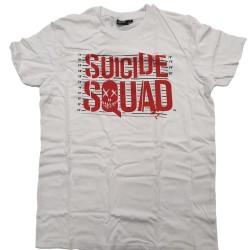 T-Shirt Suicide Squad Bianca Tag. M