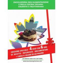 Enciclopedia dell'alimentazione e della cucina vegana, crudista e fruttariana (DVD + Libro) - N. 045