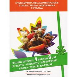 Enciclopedia dell'alimentazione e della cucina vegetariana e vegana (DVD + Libro) - N. 046