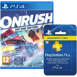 Bundle: PlayStation Plus (PSN), Abbonamento + OnRush - PlayStation 4