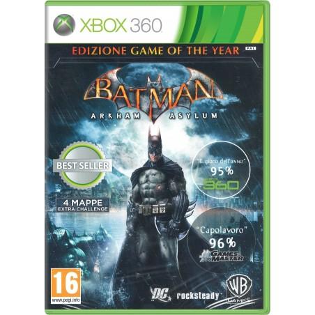 Batman: Arkham Asylum (Edizione Game Of The Year) - XBOX 360
