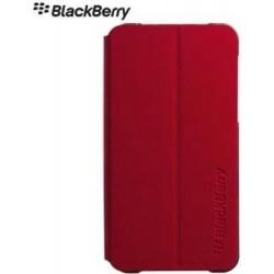 Cover Blackberry con flip Z10, rosso