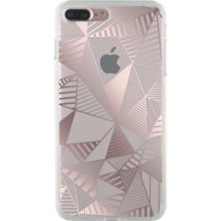 Bigben Cover Case semi rigida per iPhone 7 Plus, Rosa Pink