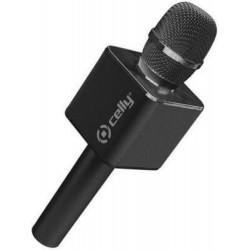 Microfono CELLY - KARAOKE NERO/PLASTICA - Peso 0,04 Kg