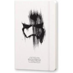 Moleskine Taccuino Star Wars in Edizione Limitata, Notebook a Righe con Grafiche e Dettagli a Tema Stormtrooper